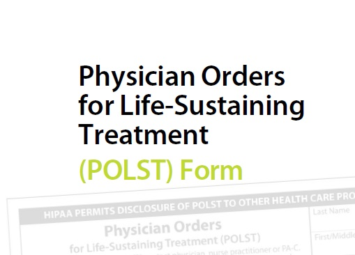 photo about Printable Do Not Resuscitate Form identify POLST - POLST Kind - POLST Brochure